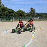 Epreuve karting à pédales inter-entreprises Finistère