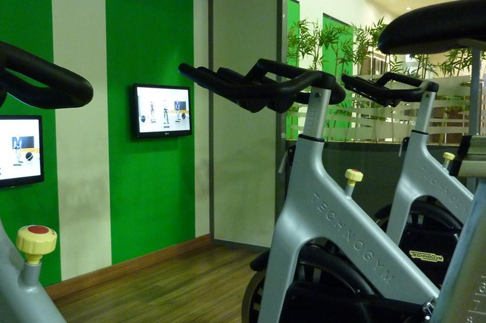 équipements salle de sport Makadam Fitness