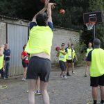 épreuve de basket inter-entreprises à Nantes