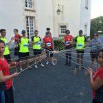 épreuve de la tour de Frobel défi Play 4 fun à Nantes