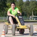 Epreuve karting à pédales inter-entreprises à Creach Gwen