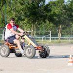 épreuve karting à pédales inter-entreprises