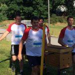 Epreuve parcours d'obstacles inter-entreprises à Quimper