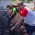épreuve de home trainer interentreprises dans le Finistère