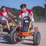 épreuve de karting défi interentreprises à Creach Gwen