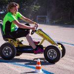 épreuve de karting à pédales inter-entreprises à Quimper