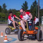 épreuve de karting à pédales inter-entreprises 2018