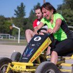 épreuve de karting à pédales inter-entreprises Play 4 fun