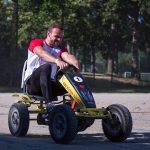 épreuve de karting à pédales défi Play 4 fun