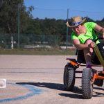 épreuve de karting à pédales inter-entreprises