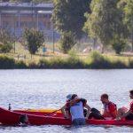 épreuve de kayak défi sportif à Quimper