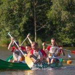 épreuve de kayak inter-entreprises 2018