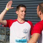 Sportifs défi interentreprises à Quimper