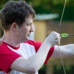 épreuve de tir à l'arc défi Play 4 fun