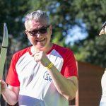 épreuve de tir à l'arc interentreprises à Quimper