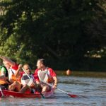 épreuve de kayak défi Play 4 fun à Quimper