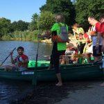 Epreuve de kayak inter-entreprises Quimper 2018