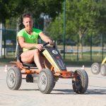 épreuve karting à pédales interentreprises à Quimper