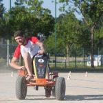 épreuve karting à pédales inter-entreprises en Bretagne