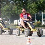 épreuve karting à pédales inter-entreprises dans le Finistère