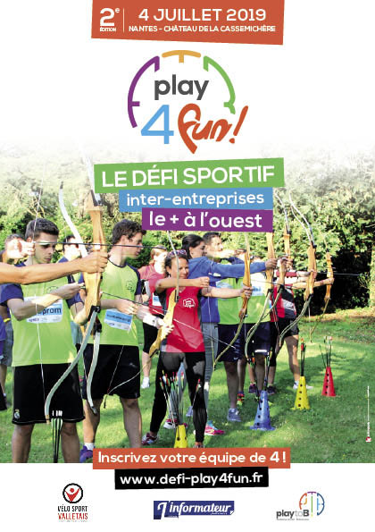 affiche Play for Fun Nantes