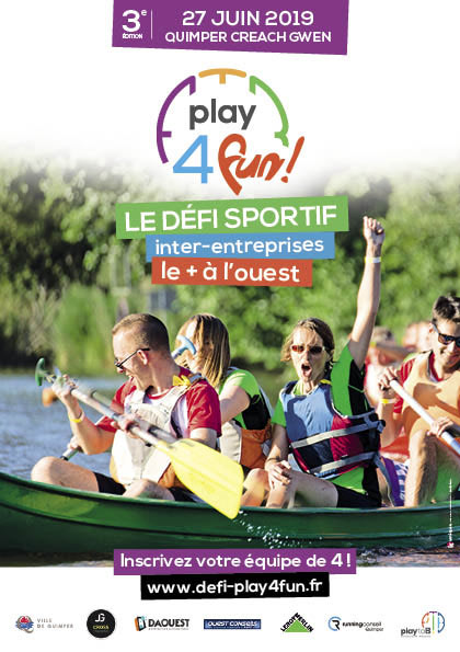 affiche Play for Fun Quimper