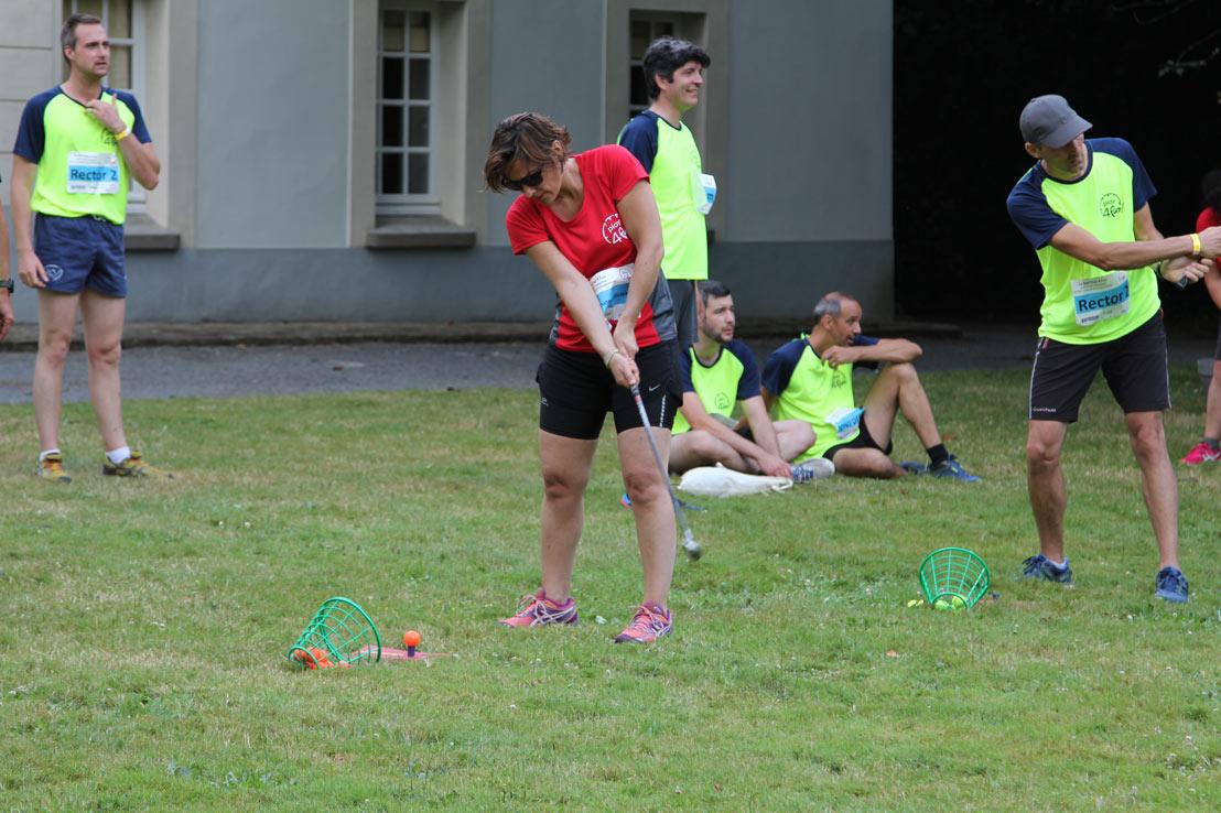 épreuve de golf interentreprises au château de la Cassemichère